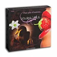 Coffret massage coquin Fruits Exotiques