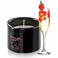 Bougie de massage Fraise Champagne