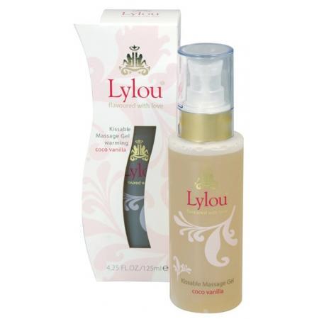 Gel massage / Lubrifiant Vanille Coco 2en1