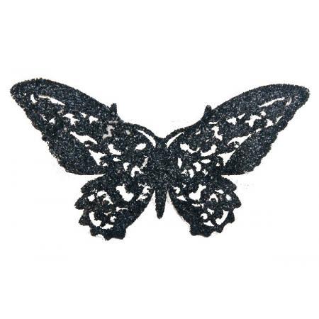 Bijou de peau Papillon Noir