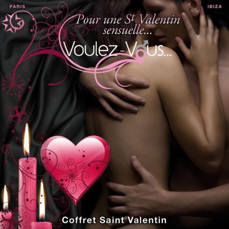 Coffret massage Saint-Valentin