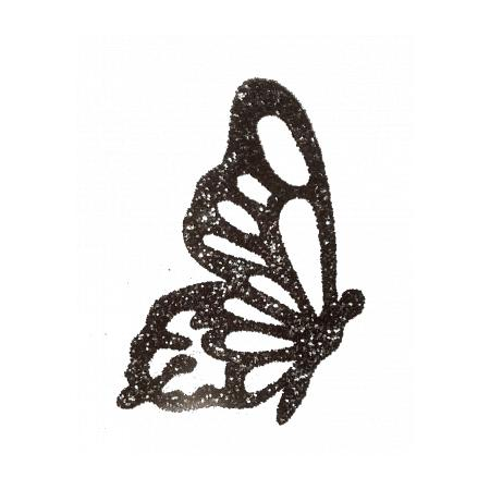 Bijou de peau pailleté Papillon
