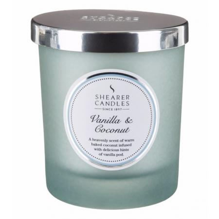 Bougie parfumée Vanille Coco - Grand format