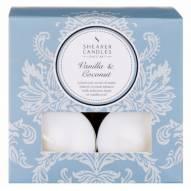 Bougie chauffe-plat Vanille Coco x 8