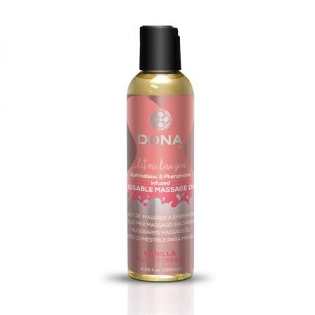 Huile de massage comestible aphrodisiaque Vanille
