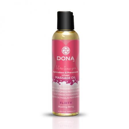 Huile de massage aphrodisiaque Fruits Rouges