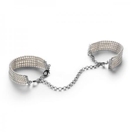 Menottes Bracelets Plaisir Nacré Blanc