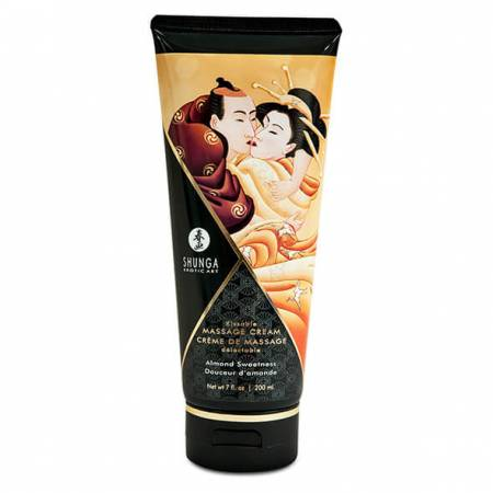 Crème de massage sensuel Amande