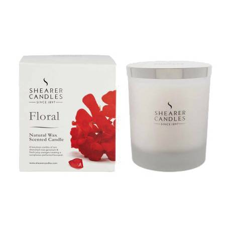 Bougie parfumée Fleurs d'Eté - Grand format