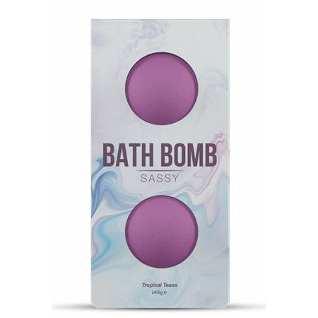 Bombe de bain aphrodisiaque Fruits Exotiques x2