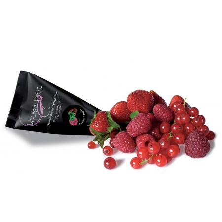 Huile de massage chauffante Fruits rouges