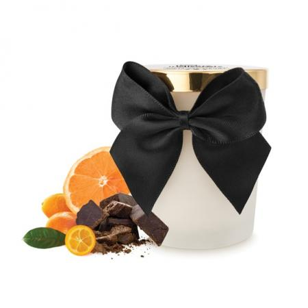 Bougie de massage Chocolat Noir - 100% Vegan